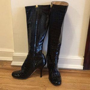 Giuseppe Zanotti Black Knee High Boots